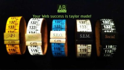AB ADV your web success is tailor made
